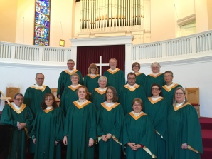 Choir at Easter 2016