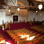 Our church can seat up to 350.