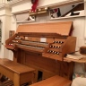 Our Hook & Hastings tracker organ, installed in 1903. Refurbished in the 1950's and again in the 1990's