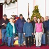 Church - people - dec. Christmas